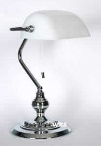 Bankerlampe weiss Eglo