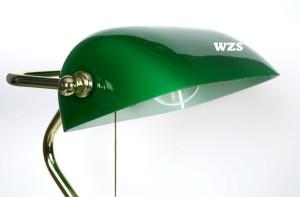 Bankerlampe grün Bishoff