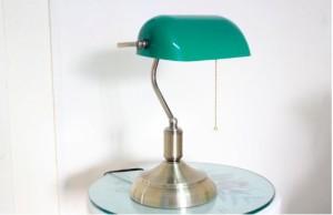 Bankerlampe grün elfnick